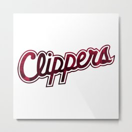 Hometown Pride | Los Angeles Clippers Metal Print