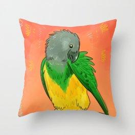 bird things Throw Pillow
