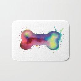 Multi-Color Bone Bath Mat