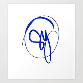 SyPaints Art Print