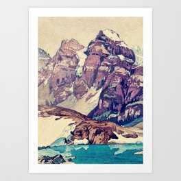 The Dimyian Breathing Art Print