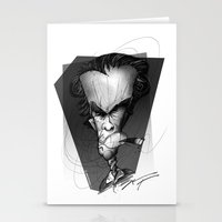 clint eastwood Stationery Cards featuring Clint Eastwood by alexviveros.net
