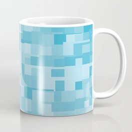 abstract square mosaic background Coffee Mug