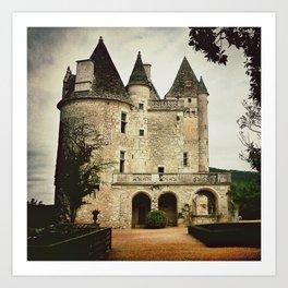 Château des Milandes Art Print