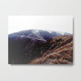 foggy australian mountains Metal Print