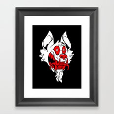 Toothy Framed Art Print