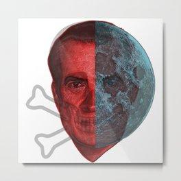 Shadow Nixon! Metal Print