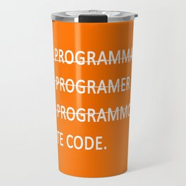 I write code Travel Mug