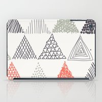 triangle iPad Cases featuring Triangle by samedia