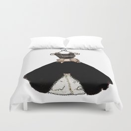 My favorite black dress Duvet Cover
