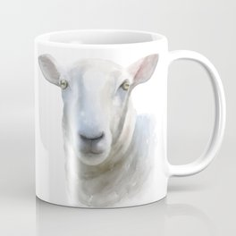 Watercolor Sheep Coffee Mug