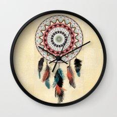 Mandala Dream Catcher Wall Clock