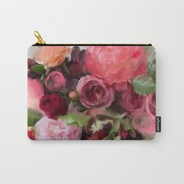 Blurrily Blooming I Carry-All Pouch