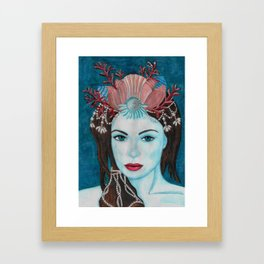 Mermaids - Jewel Framed Art Print
