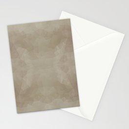 """Milk chocolate"" triangles design Stationery Cards"