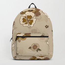 Boho Floral Backpack