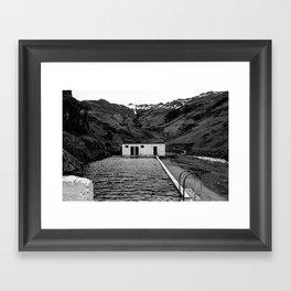 Ash Laden Framed Art Print