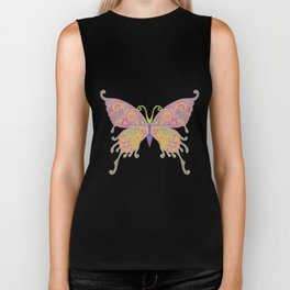 Butterflies Are Free To Fly... Biker Tank