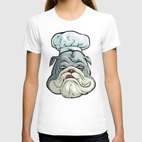 chef T-shirts featuring Chef by Keyspice
