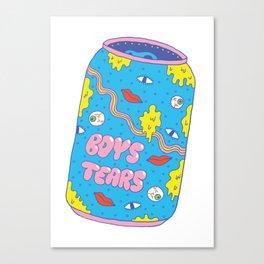 Boys Tears Canvas Print