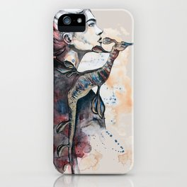 seehorse by carographic iPhone Case