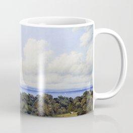 12,000pixel-500dpi - View From St John's, Near Ryde Isle Of Wight - William Turn Coffee Mug