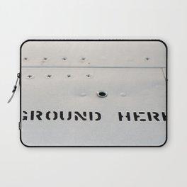 GROUND HERE Laptop Sleeve