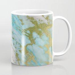 Royal Gold Marble Coffee Mug