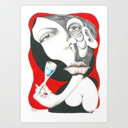001112 Art Print