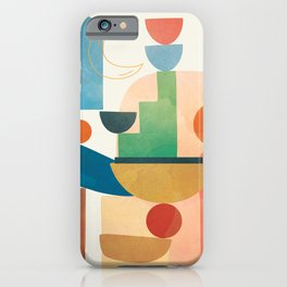 Modern Abstract Art 80 iPhone Case