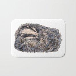 Sleeping Badger Bath Mat