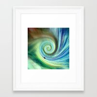 surf Framed Art Prints featuring Surf by  Agostino Lo Coco