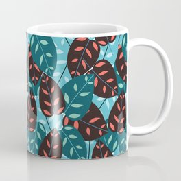 Itsuki colorful leaves print Coffee Mug