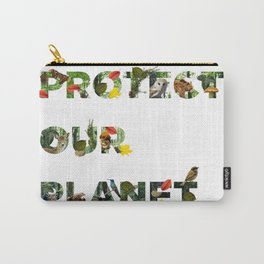 Protect Our Planet Carry-All Pouch