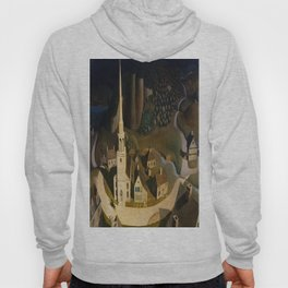 Grant Wood's The Midnight Ride of Paul Revere Hoody
