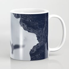 spaces xvii - cave mouth with bird Mug