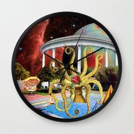 Charitable Octopoda Wall Clock