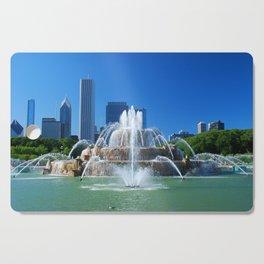Buckingham fountain Cutting Board