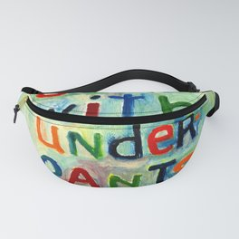 Down With Underpants Fanny Pack