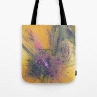 apollo Tote Bags featuring Abrupt Apollo by J5rson