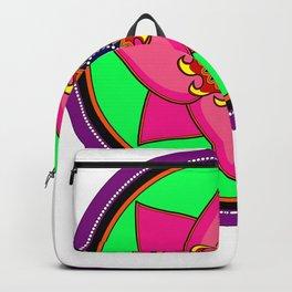 Fiery flower Backpack