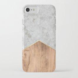 Concrete Arrow Wood #345 iPhone Case