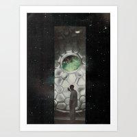 a new light  Art Print