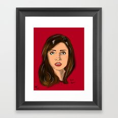 Oswin Framed Art Print