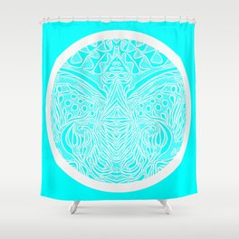 The Greek Islands...well the colour reminds me of that :) Shower Curtain