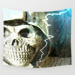 Mr Bones Wall Tapestry