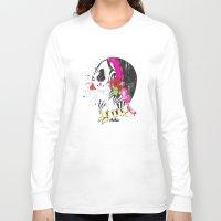 gypsy Long Sleeve T-shirts featuring Gypsy by Dioni Pinilla