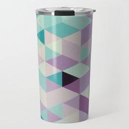 Triangles are my favourite shape Travel Mug