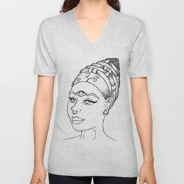 Third Eye Awaken Unisex V-Neck