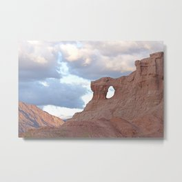 Natural window - Landscape in Salta, Argentina - Fine Art Travel Photography Metal Print